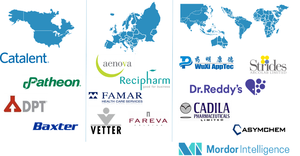 Pharmaceutical Contract Manufacturing Market Companies